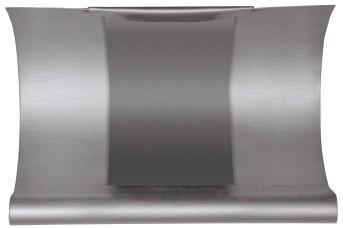 Aluminium Rinnen-Dilation halbrund 333