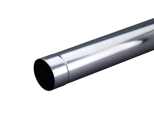 Aluminium Fallrohr 0,70/Ø100/2000mm