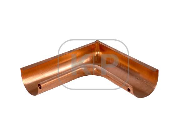 Kupfer Rinnenwinkel halbrund 400 innen