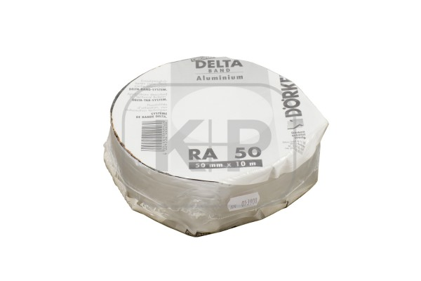 Delta-Band Aluminium-farben 50 mm1 Rolle 10 m