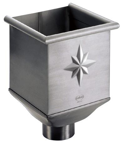 Aluminium-Wasserfangkasten Ø 80