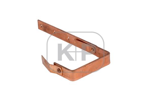 Kupfer Rinnenhaken kasten 25x4/250 Feder/Feder