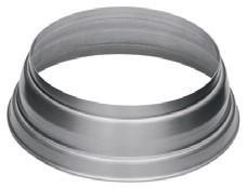 Aluminium-Standrohrkappe 80/116