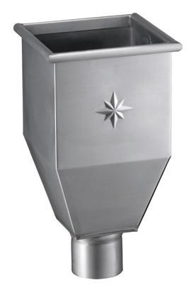Zink-Wasserfangkasten Ø 76
