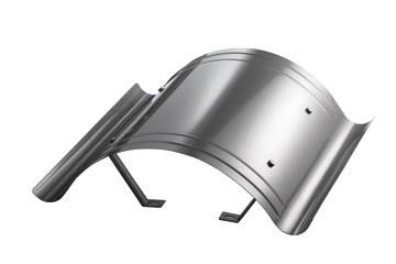 Kaminhaube leichte Ausführung Edelstahl 1,00 mm Kaminmaß : 900x900 Haubenmaß: