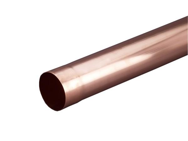 Kupfer Fallrohr 2m
