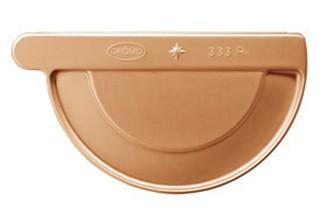 Kupfer-Vorboden halbrund 250 rechts