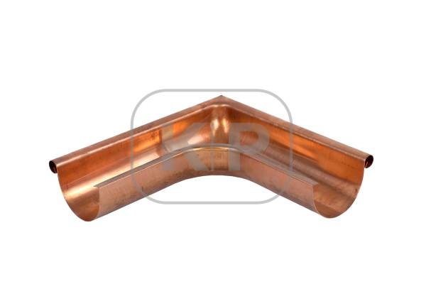 Kupfer Rinnenwinkel halbrund 250 außen