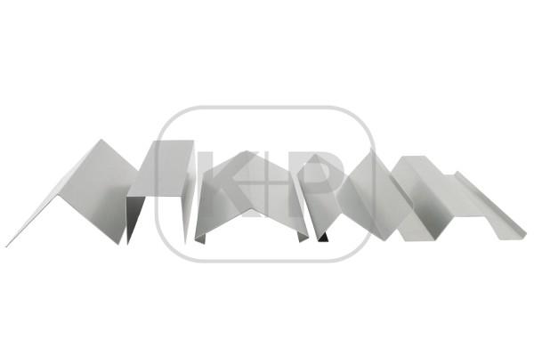 Zink-Profil 0.80/166/3000/5 K.