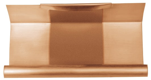 Kupfer Rinnen-Dilation kasten 500