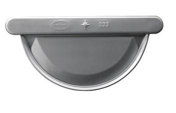 Aluminium-Vorboden halbrund 285 links/rechts