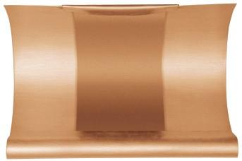 Kupfer Rinnen-Dilation halbrund 333