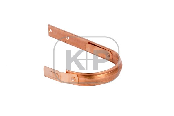 Kupfer Rinnenhaken halbrund 30x5/400 Feder/Feder