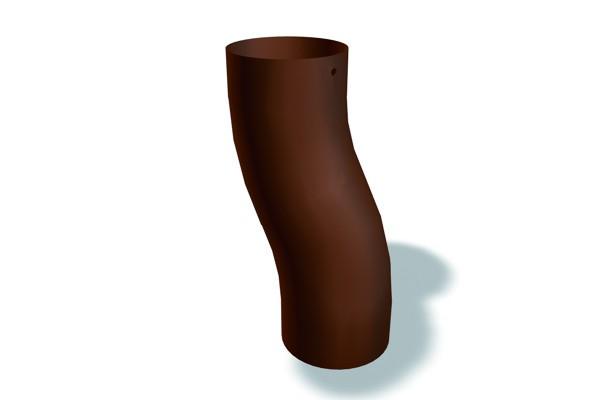 Prefa anthrazit Sockelknie Ø120/60mm