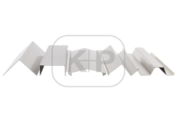 Aluminium-Profil 1,00/125/3000/2 K.