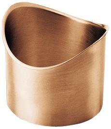 Kupfer-Lötstutzen halbrund