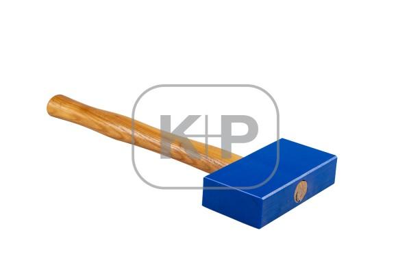 Kiesel-Plastik-Deckhammer # 880 145x75x35 beidseitig plan