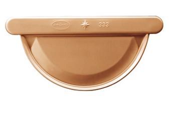 Kupfer-Vorboden halbrund 250 links/rechts