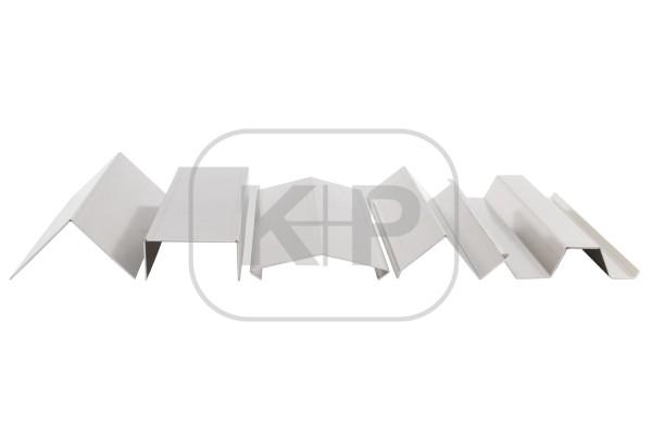 Aluminium-Profil 0.80/125/3000/3 K.
